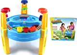 deAO - Sand and Water Table with Assorted Accessories