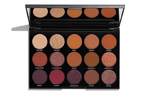 Morphe 15 N Night Master Lidschatten Palette limitierte Edition Holiday Collection (Morphe 35-palette)
