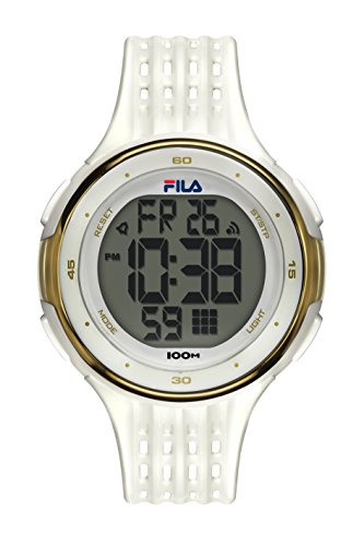 Fila unisex de pulsera reloj digital cuarzo 38–093–002filactive Blanco Plástico