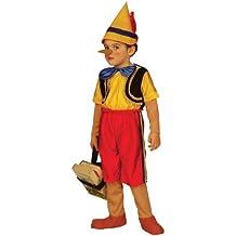 Widman - Disfraz de pinocho para niño, talla 3 - 4 años