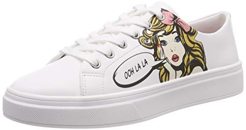 ALDO Damen CADIAN Sneaker, Weiß (White 70), 39 EU