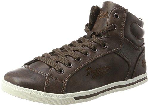 Dockers by Gerli Damen 27CH323-620300 Hohe Sneaker, Braun (Braun), 39 EU