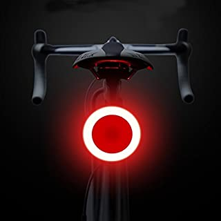 ANGELNEWS Bike Tail Light, USB Rechargeable Bicycle Light 5 Modes, LED Flashing Safety Warning Lamp, Small And Easy To install, High Brightness