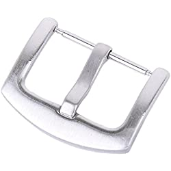 Solid Watch Band/Strap Pin Clasp Buckle with Spring Bar---20mm