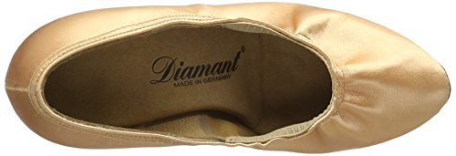 Diamant Damen Tanzschuhe 069-085-094, Escarpins Femme Or (Brown)