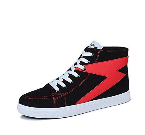 Scarpe classiche 39-44 Black+red