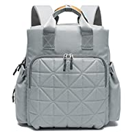 Mommy shoulder bag female diaper bag backpack multi-function travel bag pregnant women baby diaper diaper bag with baby care, large capacity, waterproof, baby stroller out baby oxford cloth, lightweig