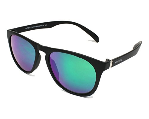 BENETTON Sonnenbrille 953S-01 (55 mm) schwarz