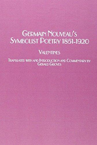 Symbolist Poetry, 1851-1920 (Studies in French Literature) par Germain Nouveau
