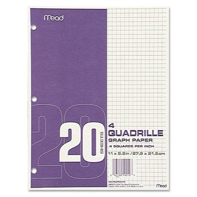 Mead Products - Graph Paper, 4