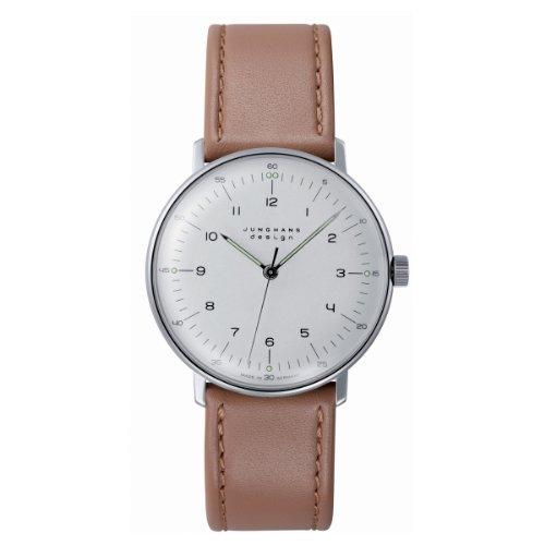 Junghans Herren-Armbanduhr max bill Handaufzug 027/3701.00