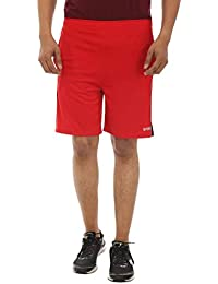 TeeMoods Casual Red Mens Sports Shorts