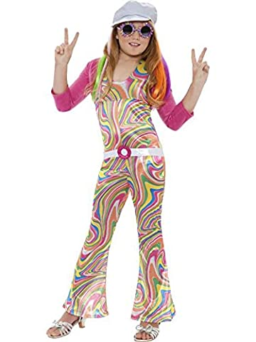 Girl Costume Hippie - Costume hippie fille 10-12