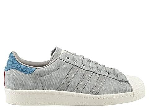adidas Originals Superstar 80s animal Oddity Sneaker Gris S75005, Taille:42 2/3