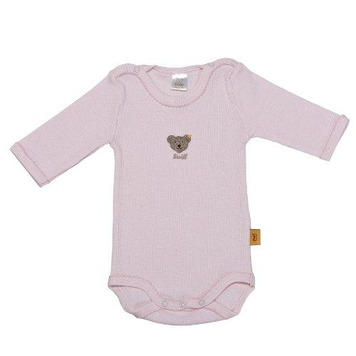 Steiff Unisex - Baby Body 0008653, Gr. 74, Rosa (barely pink 2560)