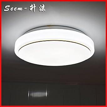 Runde LED Deckenleuchten Beleuchtung Einfache Wohnzimmer Helle Und Moderne Zimmer Die Dreifarbige