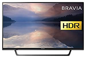 Sony Bravia KDL40RE453 (40-Inch) Full HD HDR TV (X-Reality PRO, USB  HDD Recording) - Black (2017 Model)
