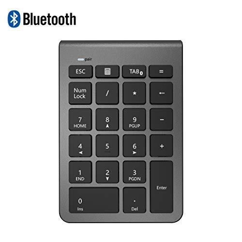 Alcey Teclado numérico inalámbrico Bluetooth