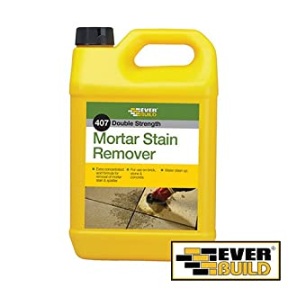 Everbuild 407 Mortar Stain Remover Building Products Surface Treatments 5L