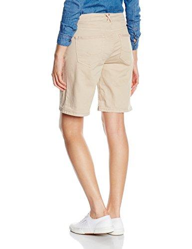 edc by Esprit 046cc1c015-5 Pocket Style, Bermuda Femme Beige (BEIGE 270)