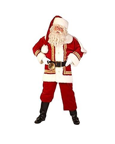 Luxe costume du Père Noël XXL