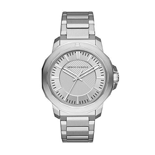 Armani Exchange Reloj Analogico para Hombre de Cuarzo con Correa en Acero Inoxidable AX1900
