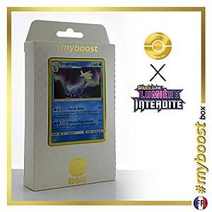 Dragmara (Aurorus) 28/131 Holo - #myboost X Soleil & Lune 6 Lumière Interdite - Box de 10 Cartas Pokémon Francés