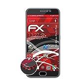 atFolix Schutzfolie passend für Meizu Pro 6 Plus Folie, entspiegelnde & Flexible FX Bildschirmschutzfolie (3X)