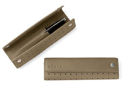 Cross Office Accessories Metallic Bronze Single Pen Pouch - AC141-13 by Cross