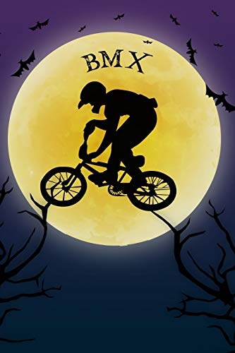 ook Training Log: Cool Spooky Halloween Theme Blank Lined Student Exercise Composition Book/Diary/Journal For BMX Riders Coaches, Trainers, 6x9, 130 Pages (Halloween Edition) ()