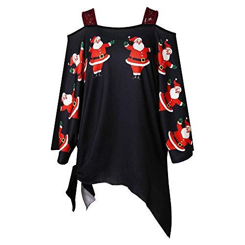 Weihnachten Kleid Damen Partykleider Elegant Abendkleid Weihnachtskleid Frauen -