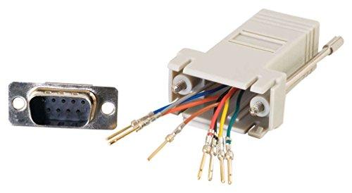 CABLESTOGO Cables to Go 81548 Modularadapter (RJ-45 auf DB9-Stecker) - Rj 45-db9