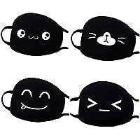Baumwoll Mund Maske, Fascigirl 4 StüCk Nette Mund Maske Anti Staub Cartoon Gesichtsmaske für Den Lauf Radfahren preisvergleich bei billige-tabletten.eu