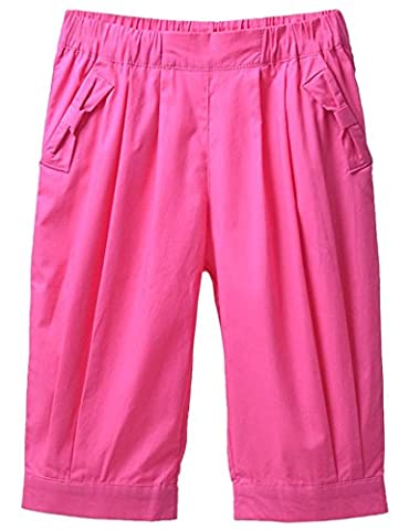 JXStar Little Girls Kids Junior Outdoors Pink Capri Shorts Age 5 Years