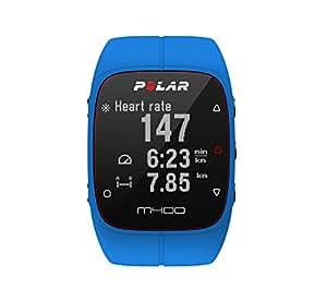 Polar M400 Cardiofrequenzimetro con GPS Integrato, Blu