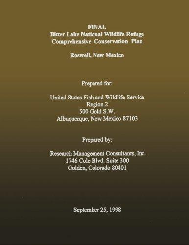 Final Bitter Lake National Wildlife Refuge Comprehensive Conservation Plan