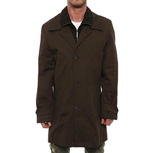 london-fog-herren-button-up-down-vest-jacket-jacke-grn-gre-s