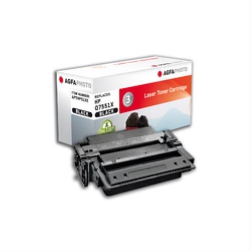 Preisvergleich Produktbild AgfaPhoto APTHP51XE Tinte für HP LJP3005 Cartridge mit Chip, 13000 Seiten, schwarz