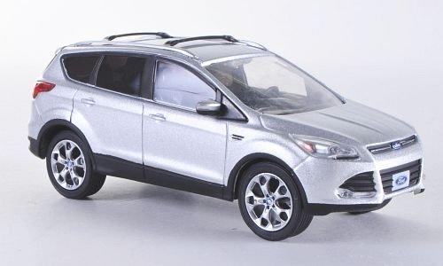 ford-escape-kuga-ii-silber-2013-modellauto-fertigmodell-greenlight-143