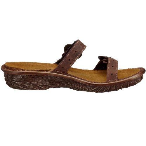 Gaia Naot 17001, sandali & Pantoletten Marrone (braun (crazyhorseN483))