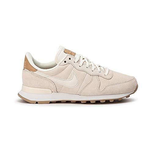 big sale 902f9 6fa9c Nike Damen W Internationalist PRM Laufschuhe Mehrfarbig Pale Ivory-Summit  White-Linen 104,