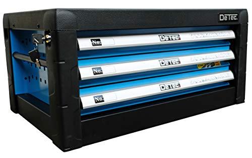 DeTec. Werkstattwagen blue Edition inkl. Werkzeug - 4
