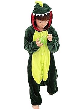 Nicetage Karneval Kostüm Kinder Cosplay Onesie Jumpsuits Anime Kostüm Pyjama Overall Schlafanzug Hausanzug