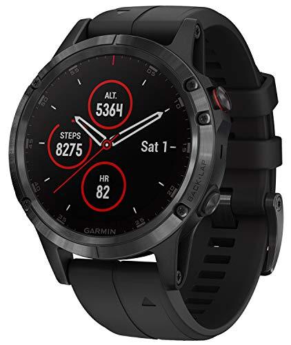 Garmin Fenix 5 Plus Sapphire Black Black GPS
