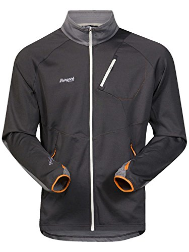 Bergans Galdebergtind Jacket Men Solid Charcoal/Solid Grey/Pumpkin