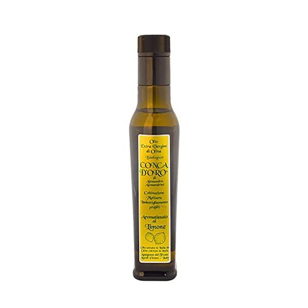 Olio extra vergine Biologico aromatizzato limone - 25cl