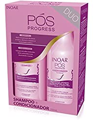 Inoar Kit Pos Progress Shampooing et Après-shampooing (2 x 250 ml)