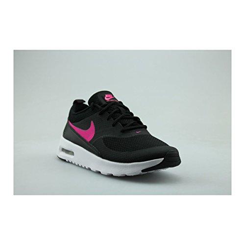 Nike Air Max Thea (Ps), Chaussures de Running Entrainement Fille Noir (Noir / Hyper Rose-Blanc)