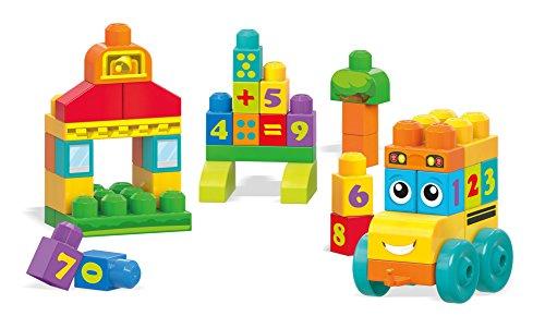 Mega Bloks - Autobús vamos a contar (Mattel FBM80)