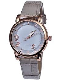 Actim Reloj Digital Ultra Fino de Cuarzo Fino para Mujer Reloj de Moda con Esfera Fina